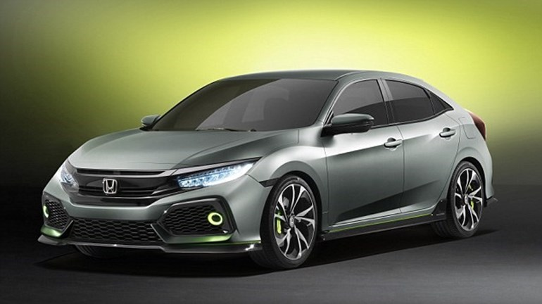 The new Honda Civic is to be built at Honda's UK plant in Swindon.