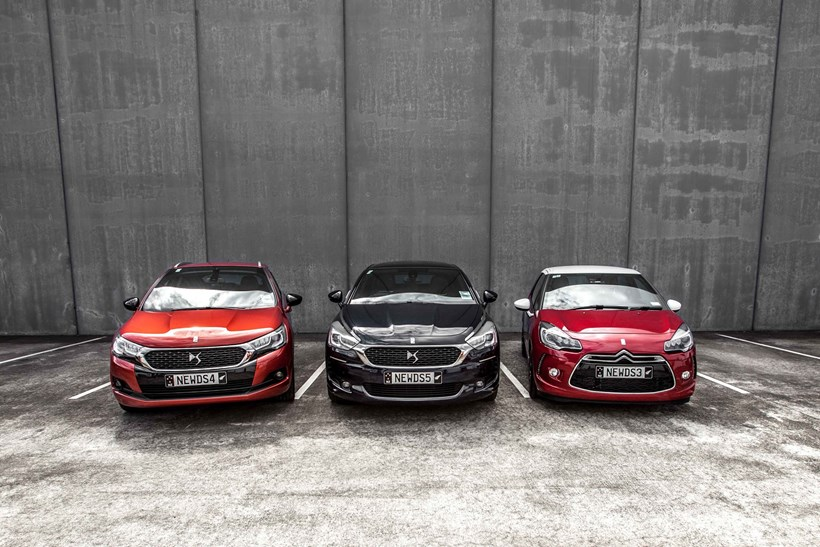Three new DS models introduced onto the New Zealand market this week. Picture/Supplied.