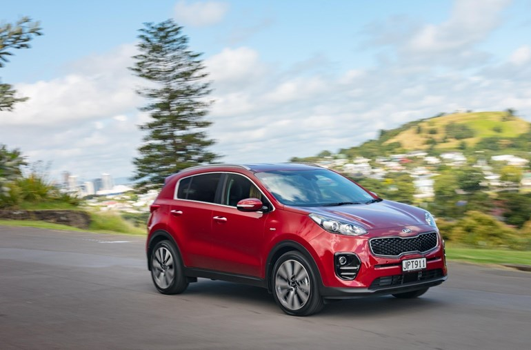 Kia Sportage was New Zealand's top-selling passenger vehicle last month. Picture/ Ted Baghurst