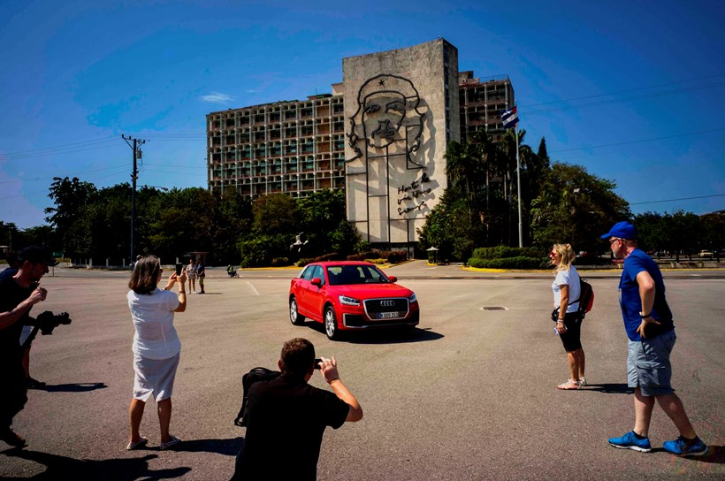 Audi showed off the new Q2 small SUV in Havana, Cuba, earlier this month. Picture/AP