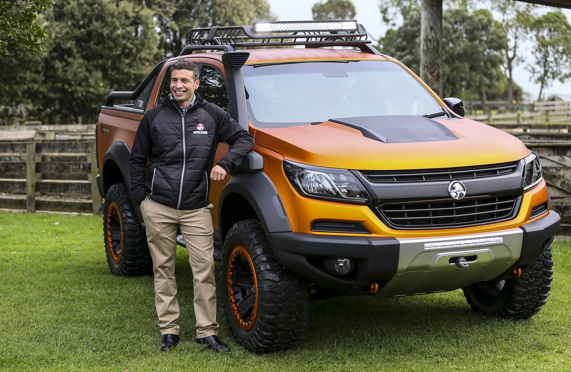 Ute beauty! Check out Holden's $3million Colorado - News ...