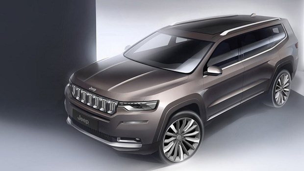 New Jeep Grand Commander 7 seater revealed, but you can't buy one