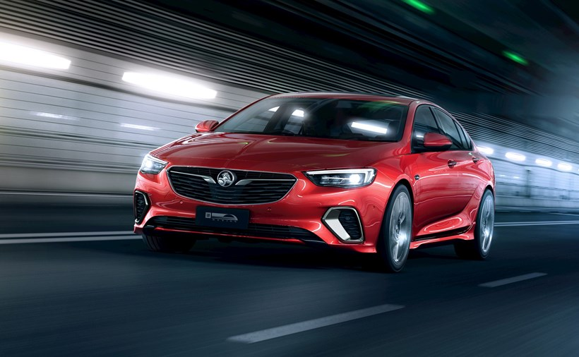 Range-topping 2018 Holden Commodore VXR will be on display at Leadfoot Festival. Photo / Holden Australia