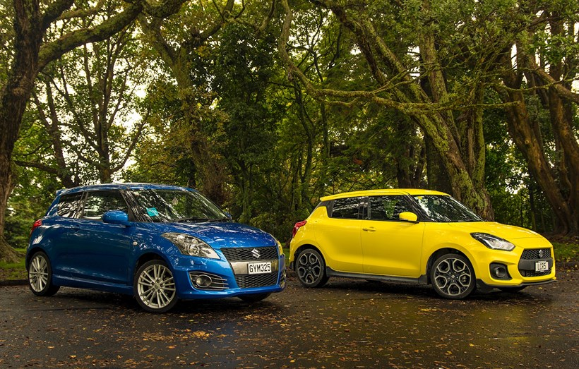 Old or new? We examine two Swift Sport gems and find out. Photos / Matthew Hansen