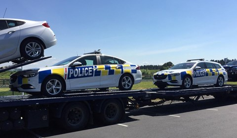 New Zealand's new Holden ZB Commodore police cars spotted