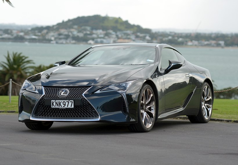 The LC 500 marks a significant turning point for Lexus. Photo / David Kavermann