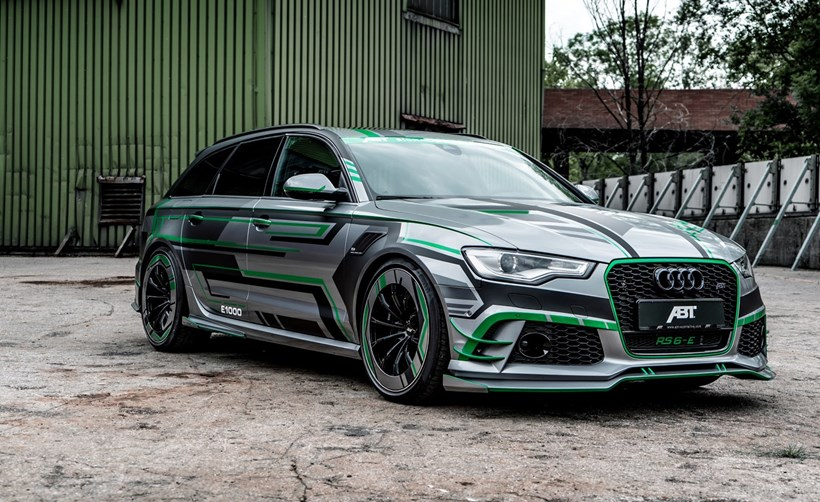 Tuning Group Create Electric Flavoured 1004hp Audi Rs6