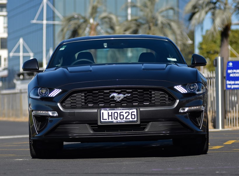 Ford Mustang EcoBoost. Photos / George Novak