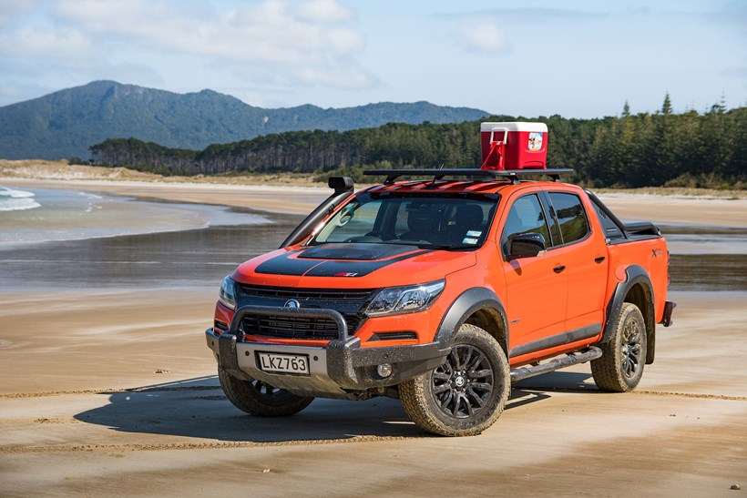 First Drive Holden Colorado Z71 Xtreme Takes On Great Barrier