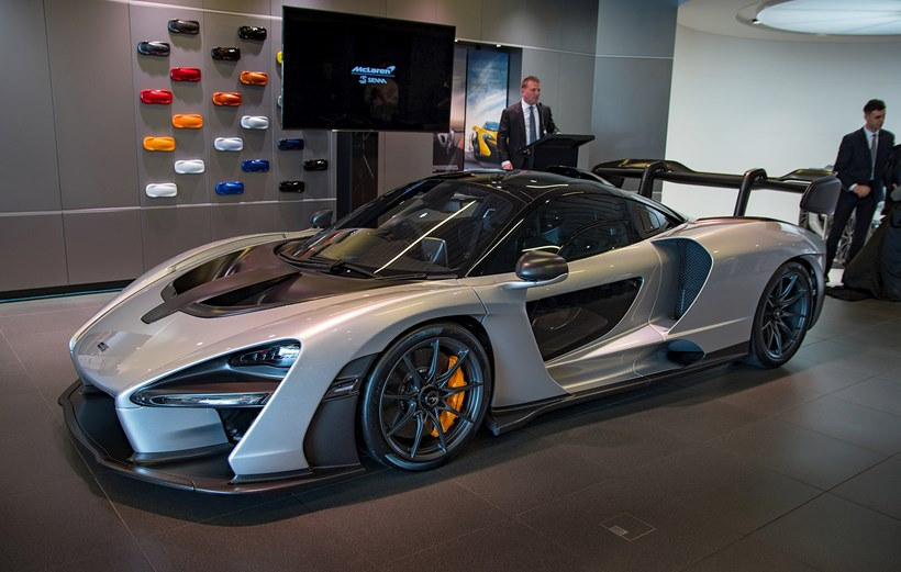This Is It First Jaw Dropping 340km H Mclaren Senna Lands