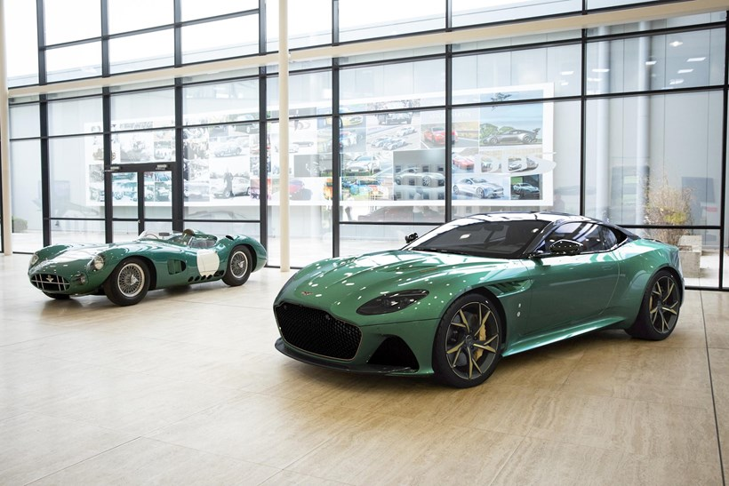 Collection of 24 'DBS 59' Superleggera special editions will be built. Photos / Aston Martin
