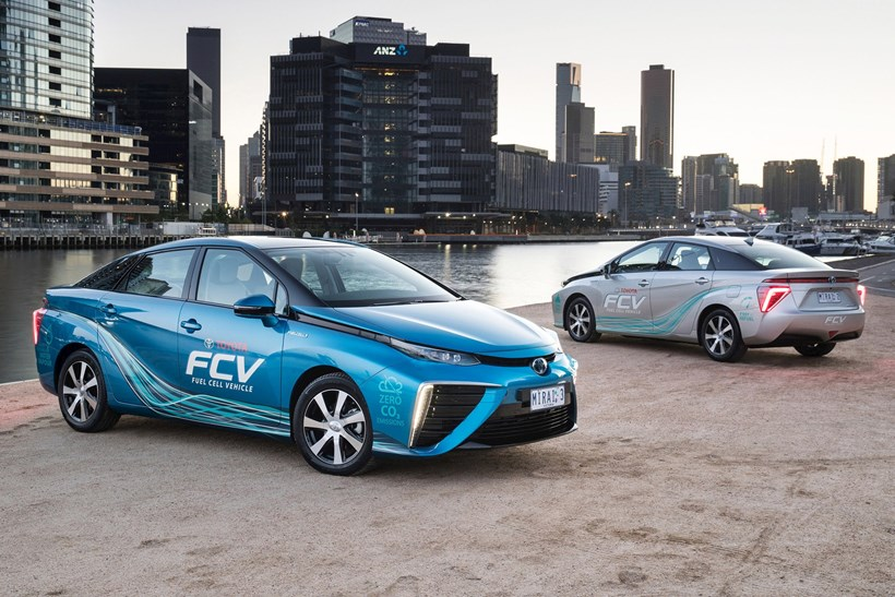 Toyota make first step towards a hydrogen-fuelled future in