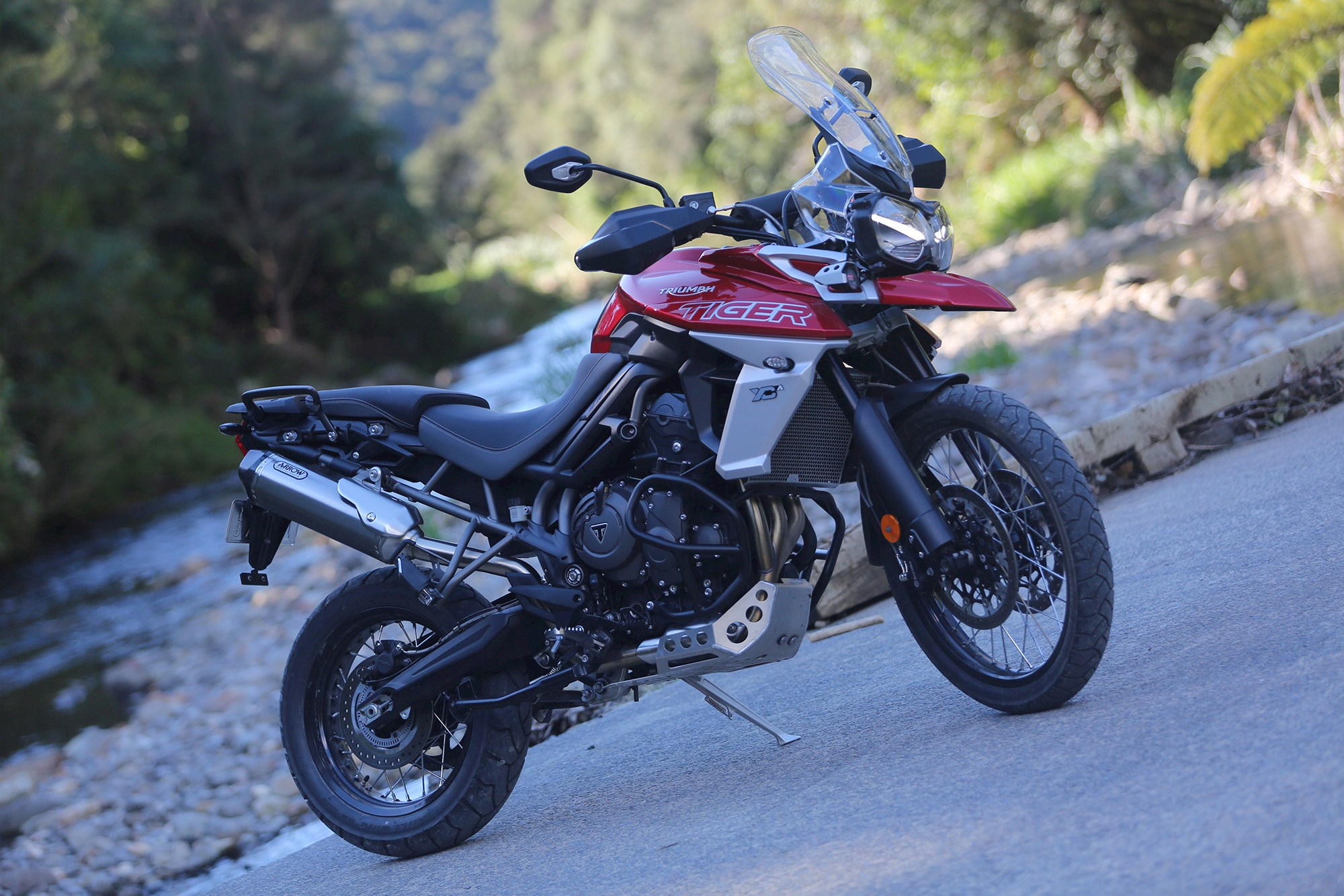 Triumph Tames The Tiger Two Revamped British Tourers Tested Road