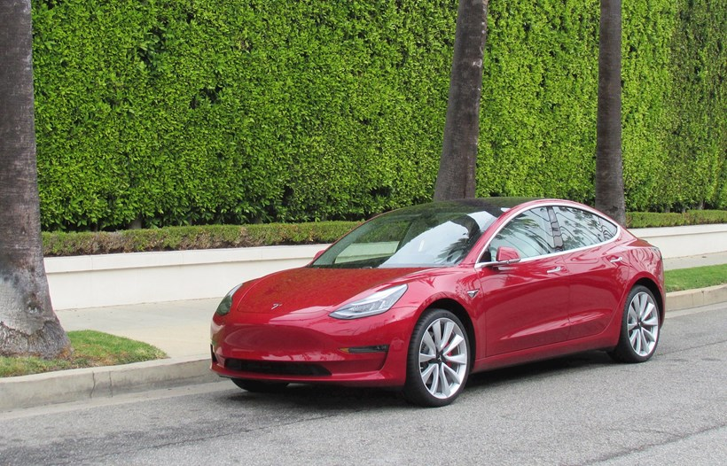 Tesla has struck problems ramping up production and delivery of the Model 3. Picture/AP
