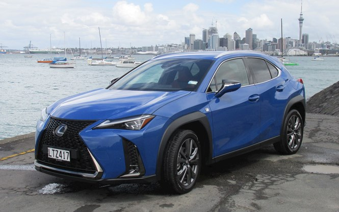 First drive: tackling the Lexus UX, a new urban explorer
