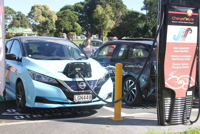 The EV Charge Finder can help find placed to top up on the road. Photo / NZME files