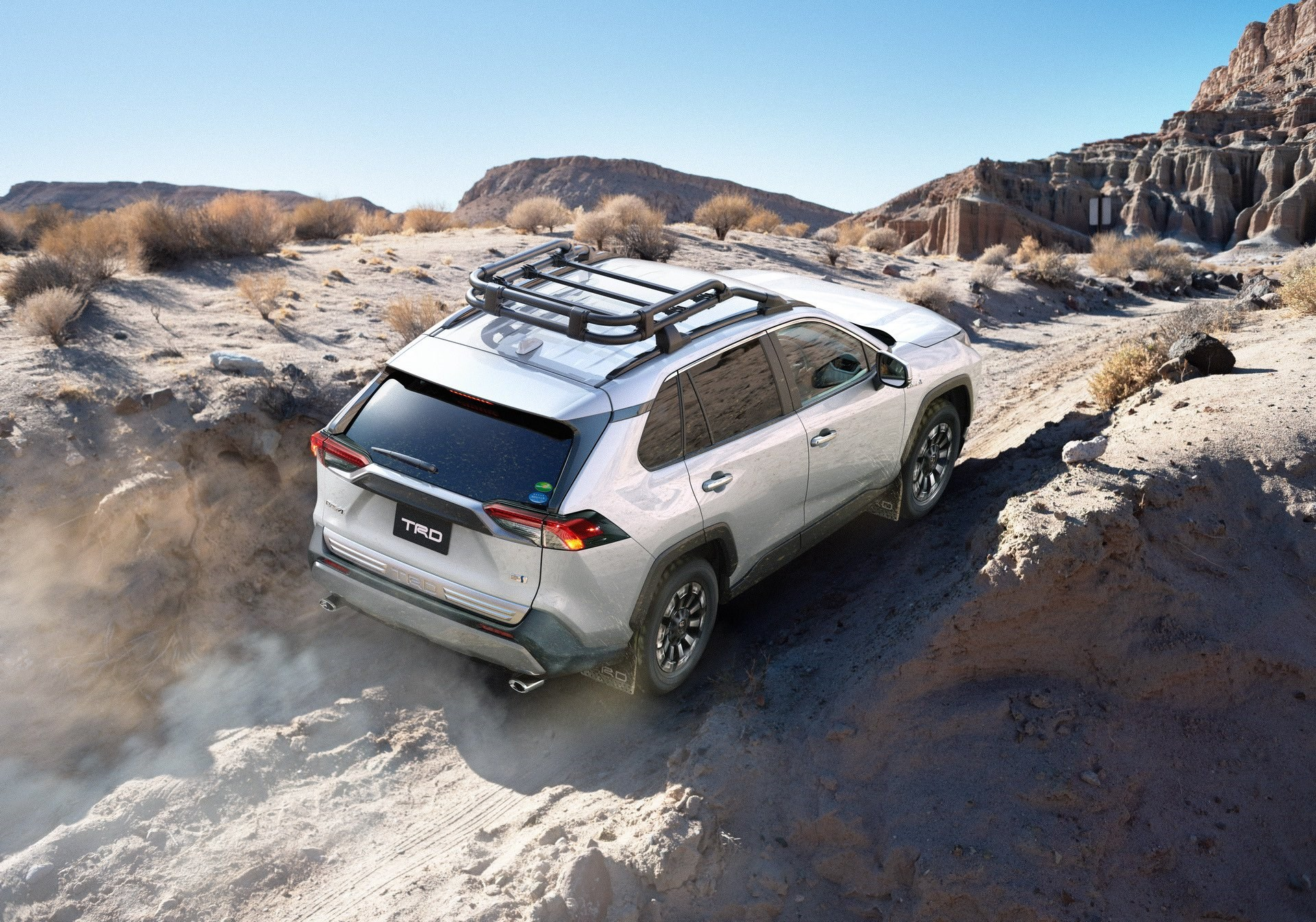 Toyota Unveils Surprisingly Badass Trd Rav4 News Driven