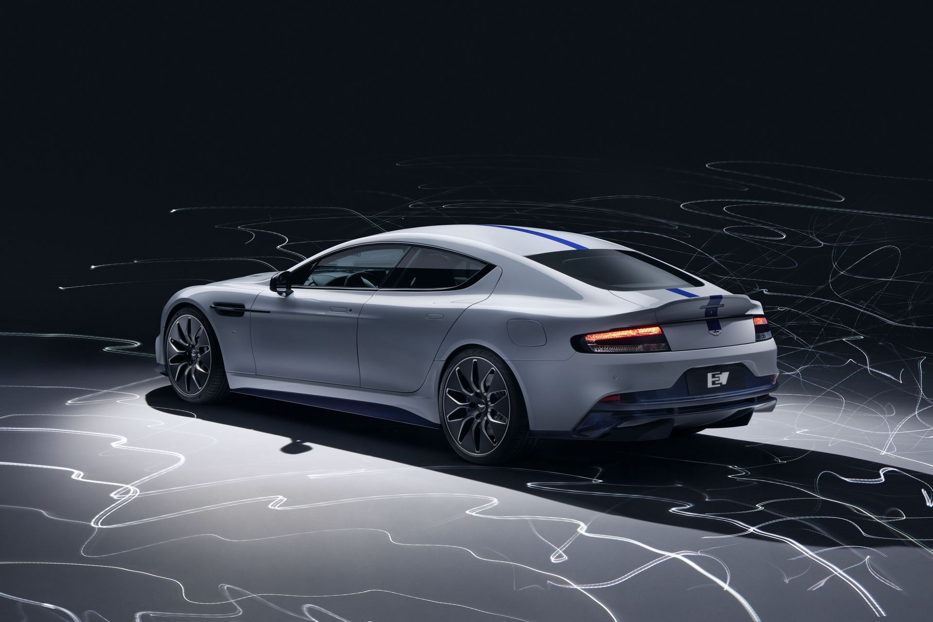 Aston Martin reveals Rapide E, their first fully electric vehicle
